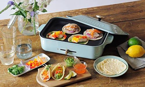 【BRUNO】ご結婚祝いや新築祝いに!お洒落なホットプレート&鍋のセットは一台あると便利です