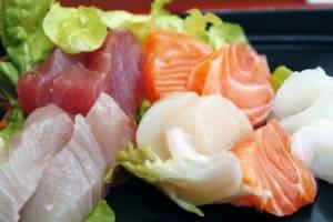 刺身などの低AGE値食品
