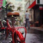 雨の日のママ用自転車レインコートは左右が見えやすい透明フードがおすすめ!