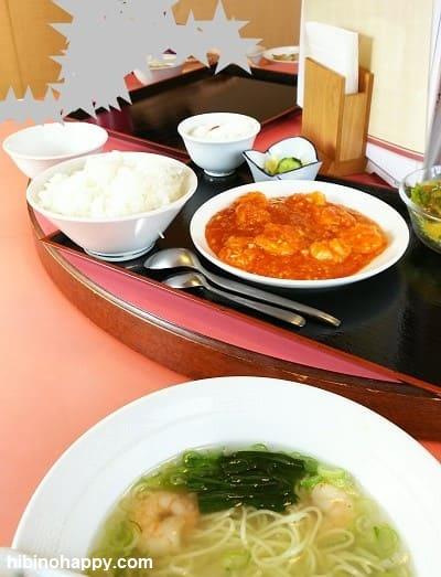 群馬大津・中国料理「まつざと」円卓