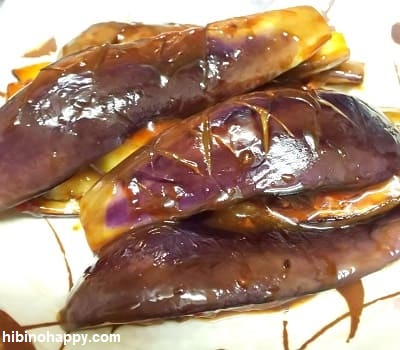 日本食研「麻婆茄子の素」出来上がり