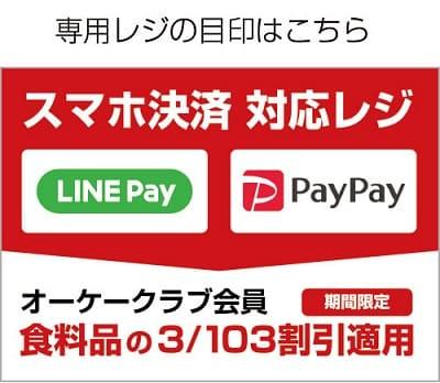 OKストア PayPay対応レジ