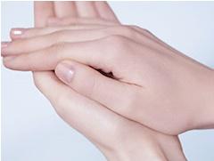 透輝美は手のひらで少し温める