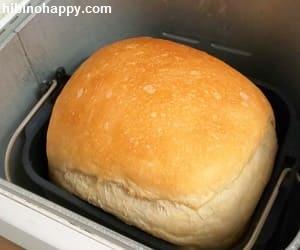 Panasonicホームベーカリーで焼き上げたパン・ド・ミ