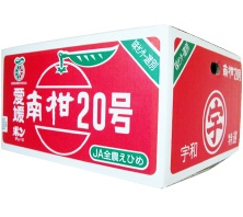 JA全農えひめの南柑20号赤箱