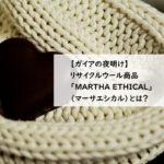 【ガイアの夜明け】古着セーターを糸から再生したリサイクルウール商品はどこで買える?